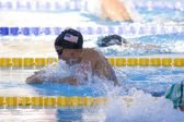 SWM: World Aquatics Championship - Womens 100m breaststroke semi final. Rebbecca Soni. — Stock Photo