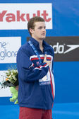 SWM: World Aquatics Championship - mens 400m individual medley final. Scott Clary. — Stock Photo