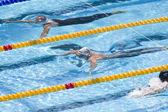 SWM: World Aquatics Championship - mens 200m breaststroke. Eric Shanteau. — Stock Photo