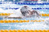 SWM: World Aquatics Championship - Womens 100m breaststroke. Rebbeca Soni . — Stock Photo