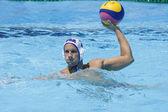 WPO: World Aquatic Championships - USA vs Romania. Peter Varellas. — Stock Photo