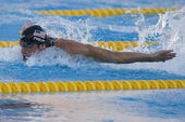 SWM: World Aquatics Championship - Mens 100m butterfly final — Stock Photo