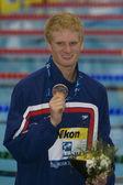 SWM: World Aquatics Championship - Mens 4 x 100m medley final — Stock Photo
