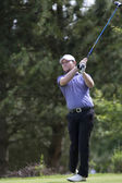 Branden Grace (RSA) in action on the second day of the European Tour — Stock Photo