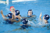 WPO: World Aquatics Championship - USA vs Greece semi final — Stock Photo