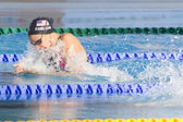 SWM: World Aquatics Championship - Womens 100m breaststroke semi final — Stock Photo