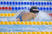 SWM: World Aquatics Championship - Womens 100m breaststroke final — Stock Photo