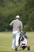 Bernd Wiesberger (AUT) in action on the second day of the European Tour — Stock Photo