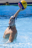 WPO: World Aquatics Championship - Germany vs Montenegro — Stock Photo