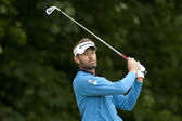 Raphael Jacquelin (FRA) in action on the final day of the European Tour — Stock Photo
