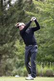 Henrik Nystrom (SWE) in action on the second day of the European Tour — Stock Photo