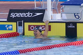 SWM: World Aquatics Championship - Womens 200m backstroke final — Stock Photo