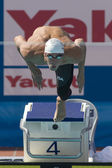 SWM: World Aquatics Championship - Mens 100m butterfly qualification — Stock Photo