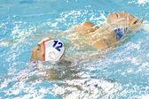WPO: World Aquatics Championship - Semi final - USA vs Spain. Xavier Garcia — Stock Photo