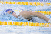 SWM: World Aquatics Championship - Womens 200m freestyle semi final. Joanne Jackson — Stock Photo