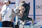 SWM: World Aquatics Championship - Mens 200m freestyle. Paul Biedermann — Stock Photo