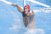 WPO: World Aquatics Championship - USA vs Croatia. Merrill Moses — 图库照片