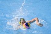 WPO: World Aquatics championship - AUS vs NZL. Sophie Smith — Stock Photo
