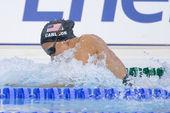 SWM: World Aquatics Championship - Womens 100m breaststroke fina. Kasey Carlson — Stock Photo