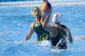 WPO: World Aquatics championship - AUS vs NZL. Lynlee Small — Stock Photo