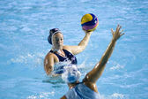 WPO: World Aquatics Championship - USA vs Greece semi final. Brittany Hayes — Stock Photo