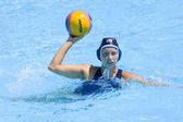 WPO: World Aquatics Championship China vs USA. Alison Gregorka — Stock Photo