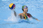 WPO: World Aquatics championship - CAN vs RSA. Laura Barrett — Stock Photo