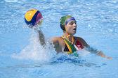 WPO: World Aquatics championship - CAN vs RSA. Laura Barrett — Stock Photo