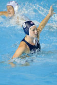 WPO: World Aquatics Championship - USA vs Greece semi final. Jessica Steffens — Stock Photo