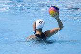 WPO: World Aquatics championship - CAN vs RSA. Tara Campbell — Stock Photo