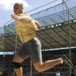 ATH: Berlin Golden League Athletics. Gerd KANTER — Stock Photo