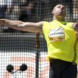 Постер, плакат: ATH: Berlin Golden League Athletics Piotr MALACHOWSKI POL competing in the discus