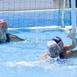 WPO: World  Aquatics Championship  China vs USA. Jessica Steffens defends a ball — Stock Photo