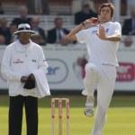 Постер, плакат: Cricket England vs Bangladesh 1st test day 2 Steve Finn