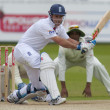 Cricket.  England vs Bangladesh 1st test day 3. Andrew Strauss — Stockfoto