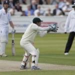 Постер, плакат: Cricket England vs Bangladesh 1st test day 2 Mushfiqur Rahim Matt Prior