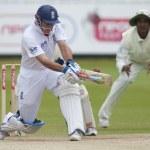 Постер, плакат: Cricket England vs Bangladesh 1st test day 3 Andrew Strauss