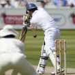 Постер, плакат: Cricket England vs Bangladesh 1st test day 2 Eion Morgan Shahadat Hossain