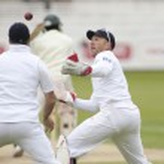 Постер, плакат: Cricket England vs Bangladesh 1st test day 3 Matt Prior Andrew Strauss James Anderson Shakib Al Hasan
