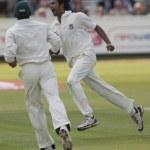 Постер, плакат: Cricket England vs Bangladesh 1st test day 2 Shahadat Hossain