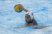 WPO: World Aquatic Championships - USA vs Greece. Elsie Windes (USA) competing in the preliminary round — Stock Photo