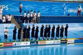 WPO: USA v Macedonia, 13th World Aquatics championships Rome 09 — Stock Photo