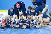 WPO: World Aquatics Championship - USA vs Greece semi final — Stock Photo