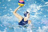 WPO: World Aquatics Championship - USA vs Greece semi final. Alison Gregorka — Stock Photo
