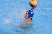 WPO: World Aquatics Championship - USA vs Croatia. Anthony Azevedo — Stock Photo