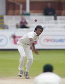 Kriket. i̇ngiltere vs bangladeş 1. test gün 3. şehadet mustafa — Stok fotoğraf