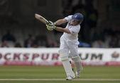 Cricket. england vs bangladesch 1. testtag 1. eion morgan — Stockfoto