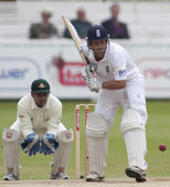 Cricket. England vs Bangladesh 1st test day 3. Johnathon Trott — Stock Photo