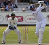 Cricket. England vs Bangladesh 1st test day 2. Graeme Swann — Stock Photo