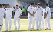 Cricket. England vs Bangladesh 1st test day 3. Mohammad Ashraful, Anderson , Prior — Stock Photo